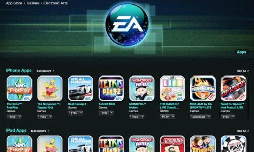EA Itunes App Store Page