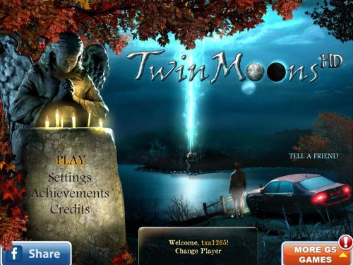 Twin Moons HD Brings the best of the Hidden Object genre to the iPad!