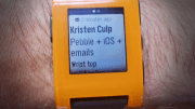 Pebble Adds Email Notifications For iOS Devices