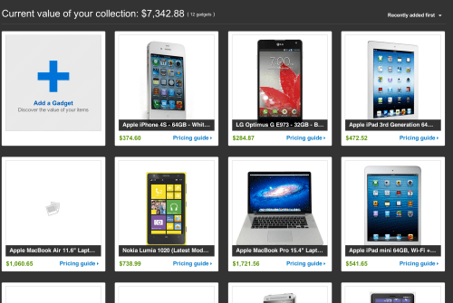 eBay Launches My Gadgets, a Way for You to Catalog and Value Your Gadget & Tech Collection  eBay Launches My Gadgets, a Way for You to Catalog and Value Your Gadget & Tech Collection