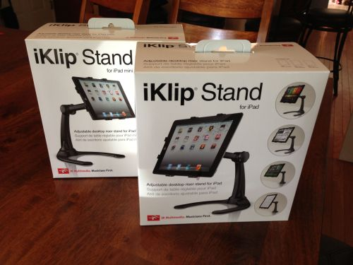 iKlip Stand for iPad by IK Multimedia Hands-On Review