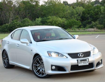 Lexus IS F is Fun, Fast, Fierce