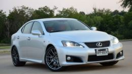 GearDiary Lexus IS F is Fun, Fast, Fierce