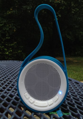 Rechargeable BlueFlame Slingshot Bluetooth Speaker Review - It Goes Anywhere!