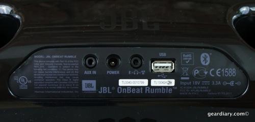 Gear Diary JBL OnBeat Rumble 29 31