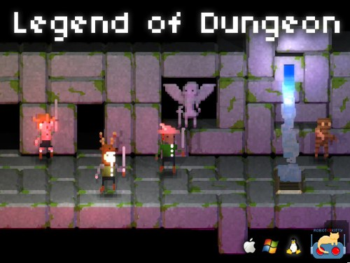 GearDiary Legend of Dungeon Launches for Mac/PC/Linux on Steam Today!