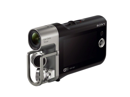 Musician? Check Out Sony's New HDR-MV1 Music Camcorder