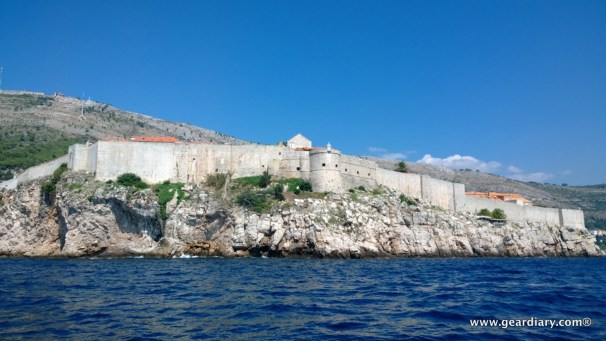 The walled city of Old Town Dubrovnic