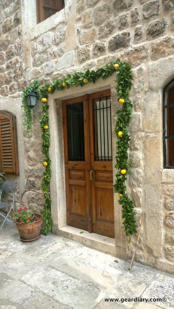 Look for this doorway in GoT S4; it is in the scene being filmed.