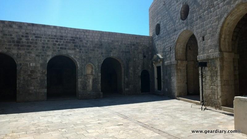 Standing on the top of Fort Lovrjenac, you'll get an eerie sense of deja vu.