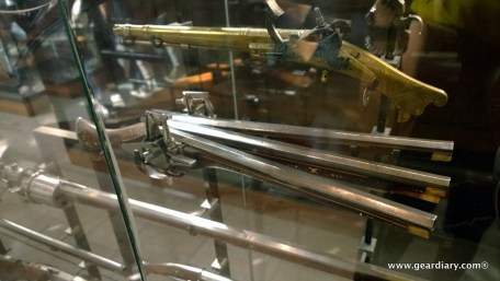 Have you ever seen a triple-barreled gun?