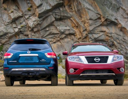 2014 Nissan Pathfinder front/rear