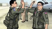 This 'Archer-ized' Version of the Top Gun 'Danger Zone' Video Is Awesome