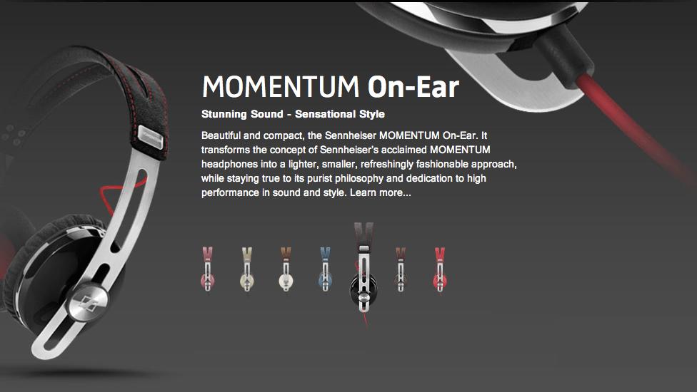 GearDiary Sennheiser MOMENTUM On-Ear Headphones Review