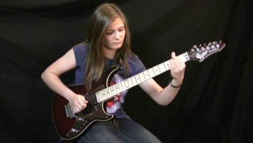 14 Year Old Guitar Virtuoso Tina S