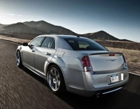 Chrysler300SRT8rear