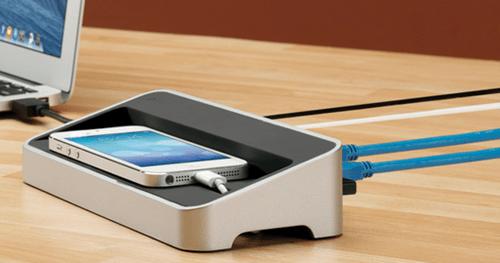 Kanex simpleDock 3 Port USB 3 0 Hub Gigabit Ethernet and Charging Station