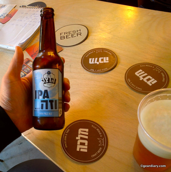 Israeli Beer That Tastes ... Heavenly