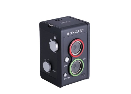 Bonzart Ampel Tilt Shift Twin Lens Digital Camera Review - Creative Images from a Retro Camera