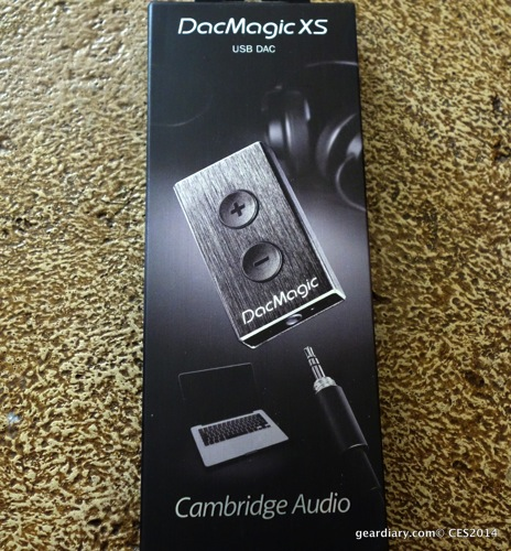 GearDiary Dirty Music? Clean It Up with the Cambridge Audio DacMagic XS
