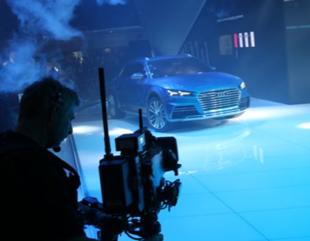 Introduction of the Audi etron all road shooting brake compact crossover concept