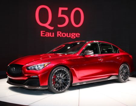 Infiniti also introduced the Q50 Eau Rouge Concept