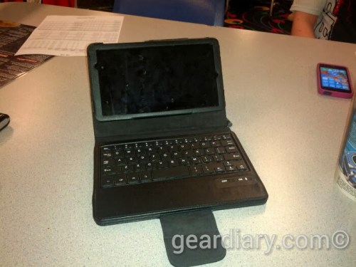 Can You Blog from a Nexus 7 with a Bluetooth Keyboard?