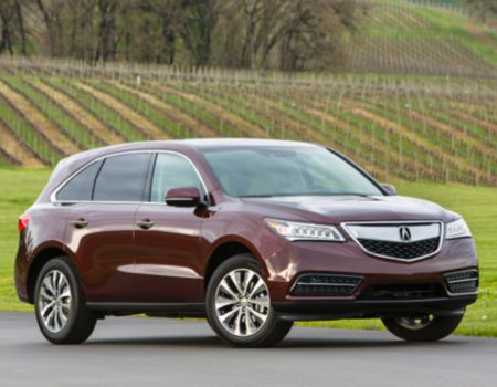 2014 Acura MDX/Images courtesy Acura