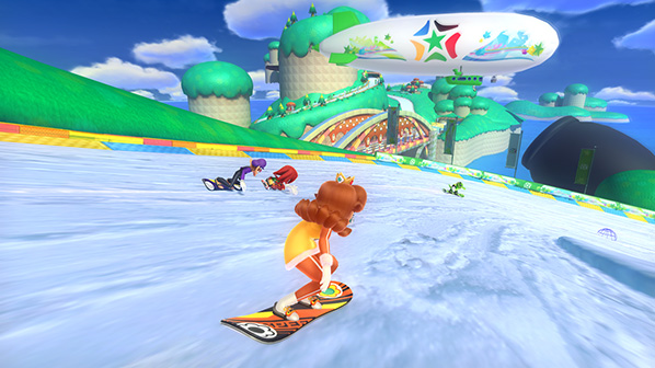 Mario & Sonic at the Sochi 2014 Olympic Winter Games Review on Nintendo Wii U