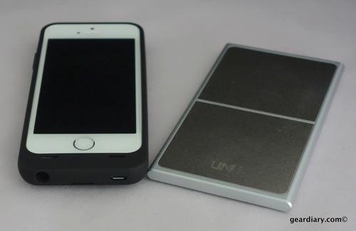 UNU AERO Series Wireless Charging Battery Case for iPhone 5S