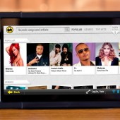 BEOND tablet BW3 Buzztime