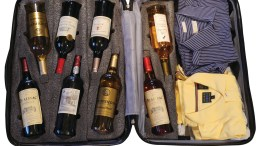 VinGarde Valise Wine Suitcase Gets Bottles There Intact
