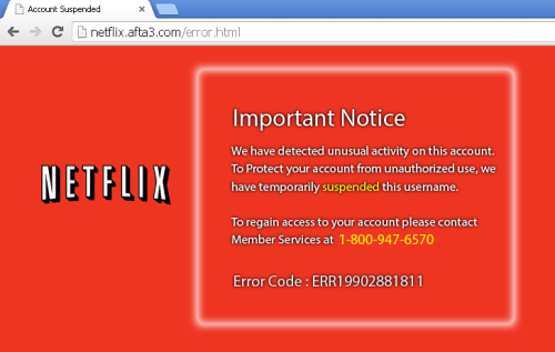 Netflix Support Scam Brazenly Uses Bogus Call Center and Remote Control