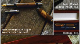 Own a Hand-Crafted Wooden Pen Made from a WWII Ship
