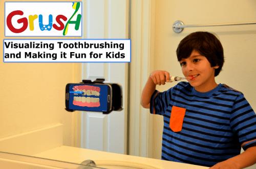 Make Brushing Fun with Grush, the Gaming Toothbrush
