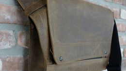 """WaterField Unveils the 15"""" Rough Rider Leather Messenger Bag"""