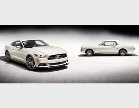 Ford Mustang Turns 50