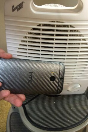 Slickwraps Carbon Fiber Wrap for the HTC One M8