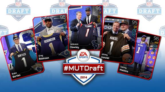 Madden NFL 25 2014 Draft Content