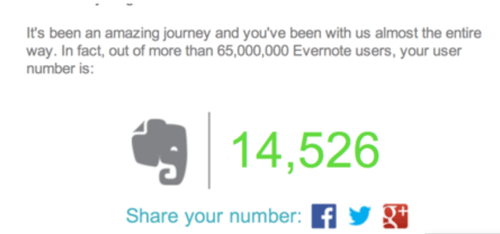 Evernote Tops 100 Million Users! #Evernote