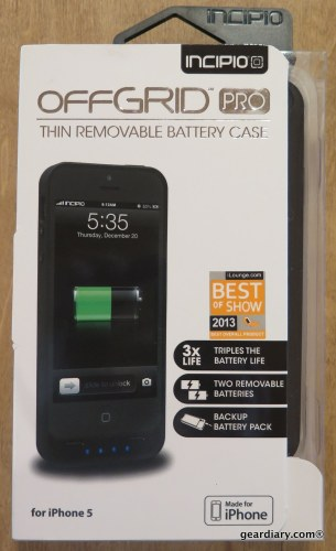 Incipio offGRID Pro iPhone 5 Backup Battery Case - Triple the Power!
