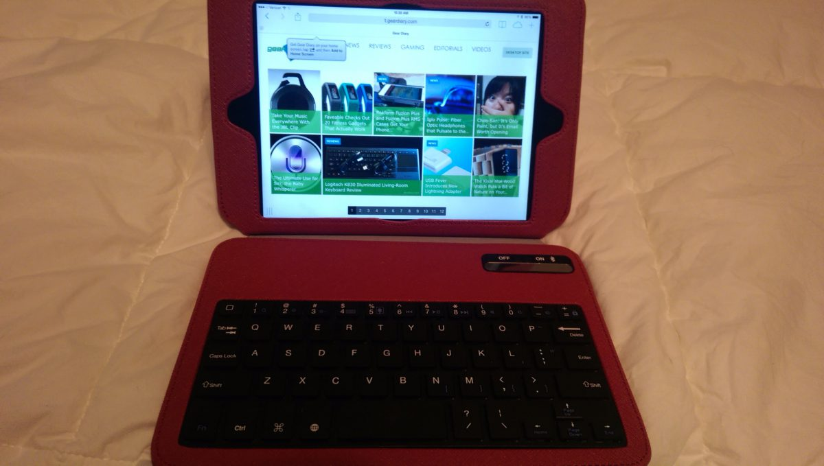 Griffin Slim Keyboard Folio For The IPad Mini