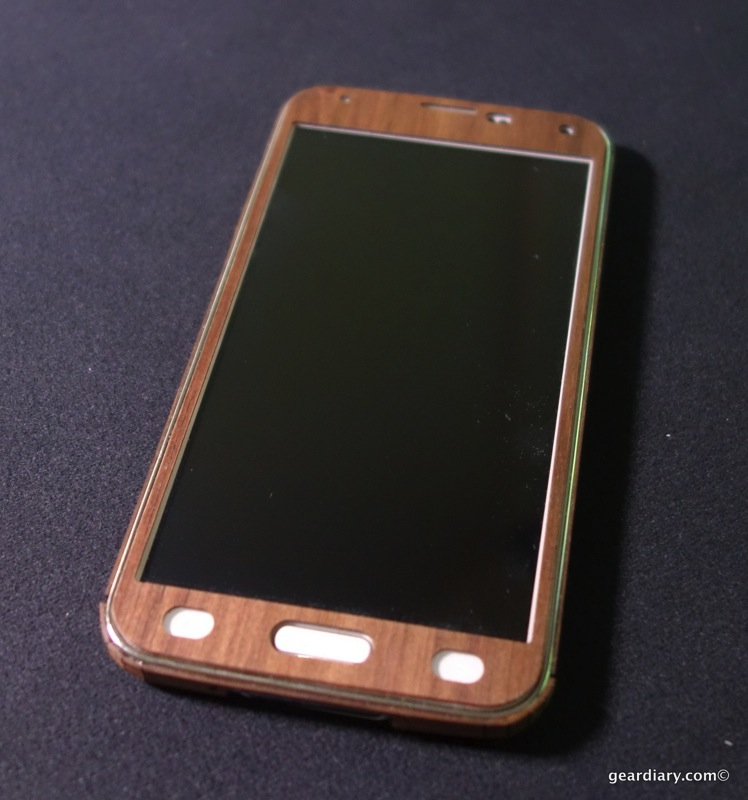 Toast Wood Covers for Samsung Galaxy S5