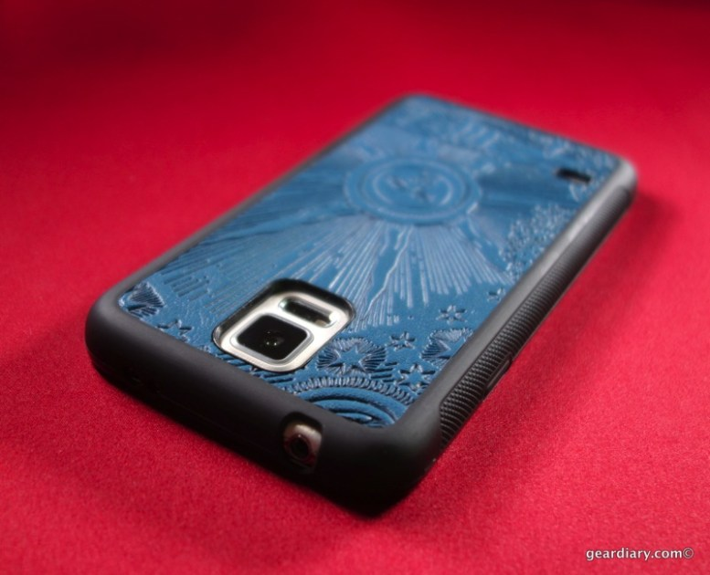 Oberon Design Samsung Galaxy S5 Leather Case Review: Affordable Luxury