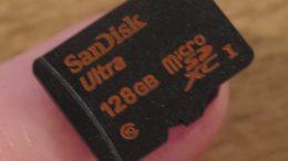 GearDiary The 128GB SanDisk MicroSDXC Is a Tiny Powerhouse