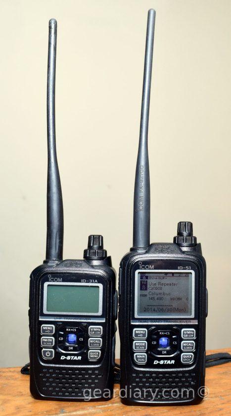 Icom ID-51A D-star Radio Review