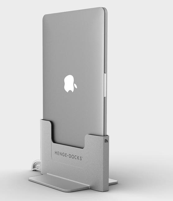 MacBook Pro + IMac + Henge Docks Vertical Docking Station