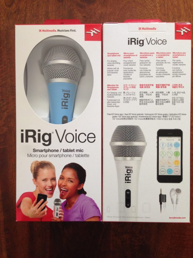 iRig Voice from iK Multimedia Hands on Review - Fun for Sing-Alongs!
