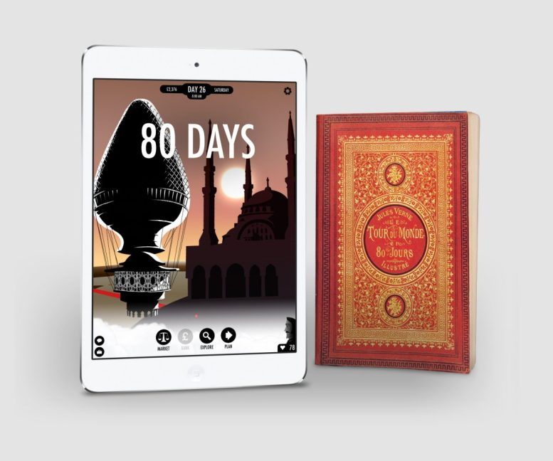 Go Around the World With '80 Days' Interactive Adventure Game!