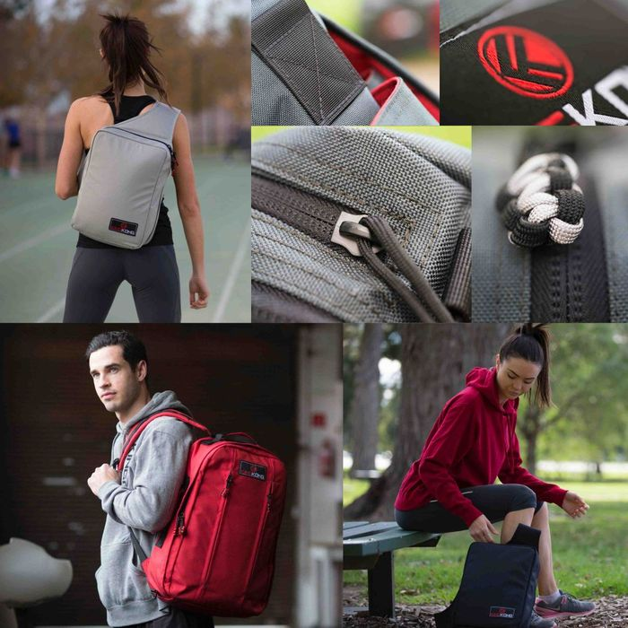 Generation Gym Bags by King Kong Apparel Campaigning on Kickstarter